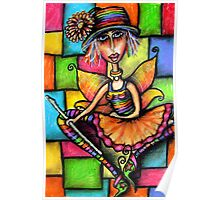 Minstral Fairy Prints & Cards Poster