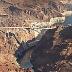 Hoover Dam and Hoover Dam Bypass Bridge by Yannik Hay