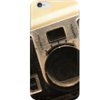 Old Photographs with Bloody Knuckles iPhone Case/Skin