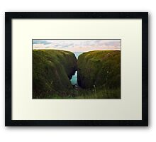 North Sea, Cruden Bay 2 - North East coast of Aberdeenshire, Scotland Framed Print