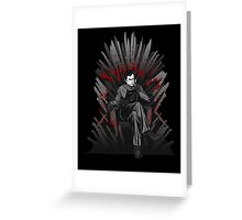 Game of Kills Greeting Card