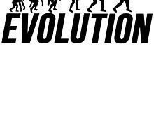 Baseball Evolution Baseball Player by mralan