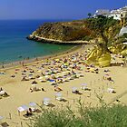 Albufeira Beach IV by Tom Gomez