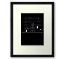 Dark Lord Happy Hour Framed Print