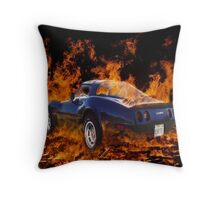 Hot Rod ! Throw Pillow