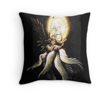 Safer Sephiroth vintage Throw Pillow