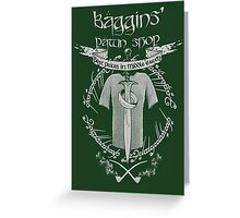 Baggins' Pawn Shop Greeting Card
