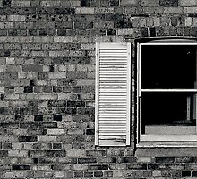 Window and Brick Wall by Cameron Gray