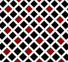 Beautiful Cushions/ Pattern Red and Black check by ozcushionstoo