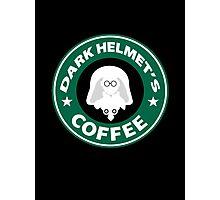 Lord Helmet's Coffee Photographic Print