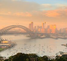 Play Misty For Me ! - Moods Of A City # 41, Sydney Australia by Philip Johnson