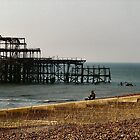 Brighton West Pier by celtes