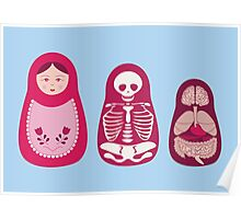 Inside out - Russian Matryoshka dolls Poster