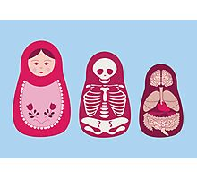 Inside out - Russian Matryoshka dolls Photographic Print