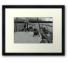 Plataran Crews Framed Print
