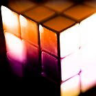 Rubix Cube - Lenbaby gradient effects by nayamina