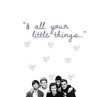 One Direction - LITTLE THINGS Lyrics by jaycommacarla