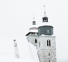 City Church in Wintertime by rose-etiennette