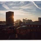 Manchester skyline by Adam Irving