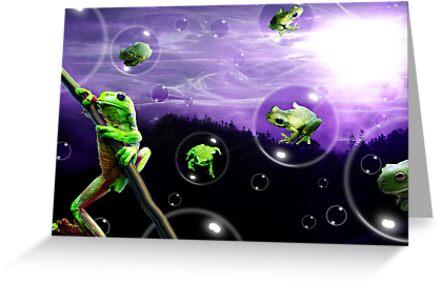 Amphibia Bubblemania by dimarie