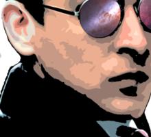 Hipster Oswald (Coloured|Black) Sticker