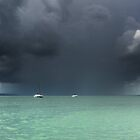 The Rain Squall - Peel Island Qld Australia by Beth  Wode