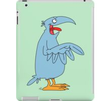 Derp is the bird. iPad Case/Skin