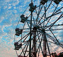 Ferris Wheel #2 by Hunter Guess