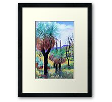 Grass Trees Canungra Framed Print