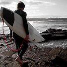 Winter Surfers by Vee T