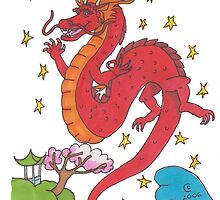 Chinese Dragon by Carla Thornton (nee Clayton)