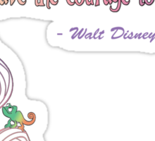 Tangled - Walt Disney Quote Sticker