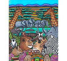 Colours of Africa Photographic Print