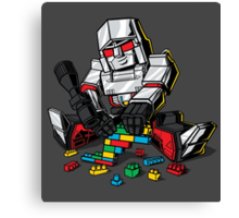 Megablocks Canvas Print