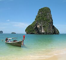 Beach in Thailand by kasiunia