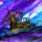 The Storm at Sea by Rashmita & Raj