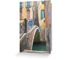 Ponte Del Scudi II Greeting Card
