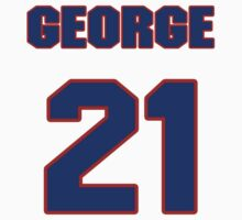 Basketball player George McCloud jersey 21 by imsport