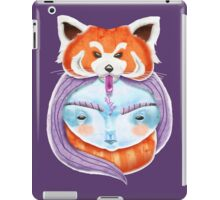Huriyah & Red Panda iPad Case/Skin