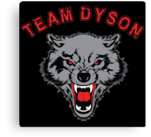 Team Dyson Wolf Canvas Print