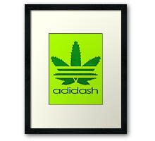 ADIDASH TEXTURIZED Framed Print