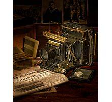 Portrait of a Camera Photographic Print