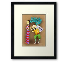 Whacky Cukong Framed Print
