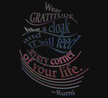 another wonderful RUMI quote by TeaseTees