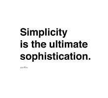 Simplicity Da Vinci by duzhd