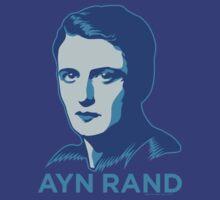 Ayn Rand by LibertyManiacs