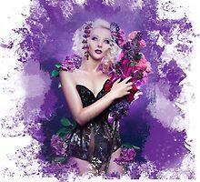 Floral Depiction  by Katelizabethan