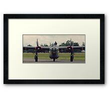 Riding On In Framed Print