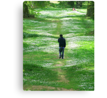 A Walk With My Soul Canvas Print