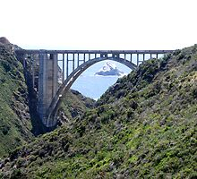 Bixby Bridge, Big Sur, CA by Lenny La Rue, IPA